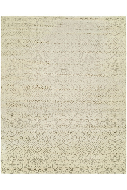 Buy Natori Shangri-La- Etched Geo Light Tones Rug from