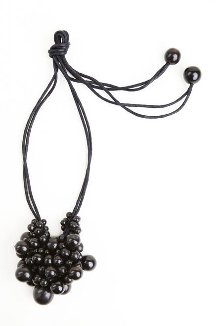 Horn Cluster Long Necklace