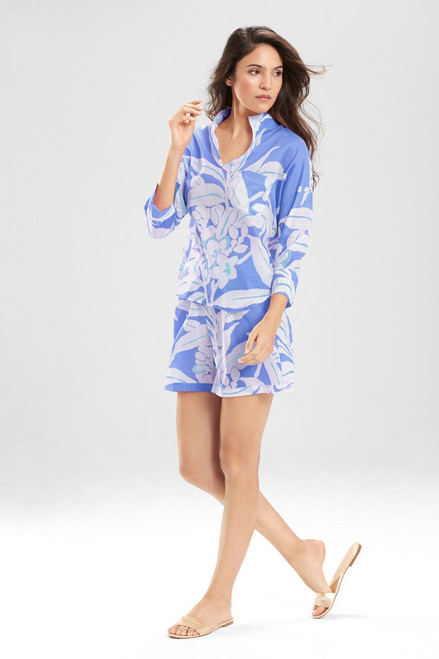 Graphic Floral PJ with Shorts