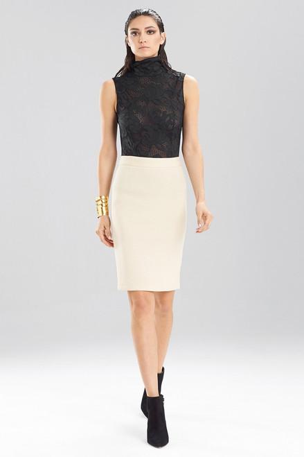 Bonded Gauze Skirt