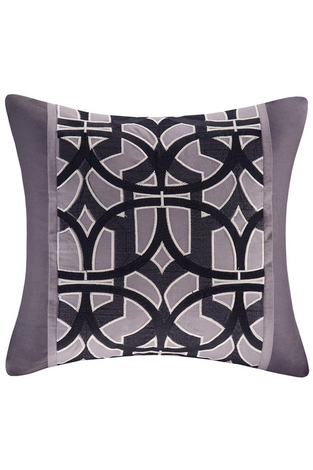 N Natori Abstract Stripe Square Pillow at The Natori Company