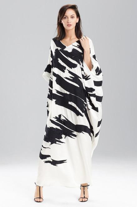 Couture 3D Ikat Caftan