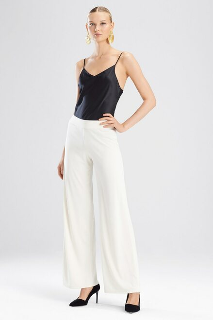 Buy Josie Natori Matte Jersey Wide Leg Pants from