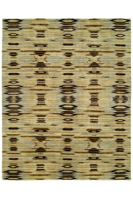 Buy Natori Dynasty- Ethnic Ikat Light Tones Rug from