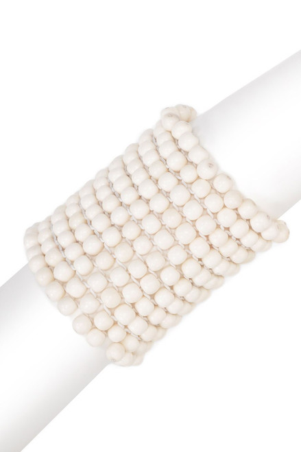 Buy Josie Natori Bone Small Beaded Bracelet from