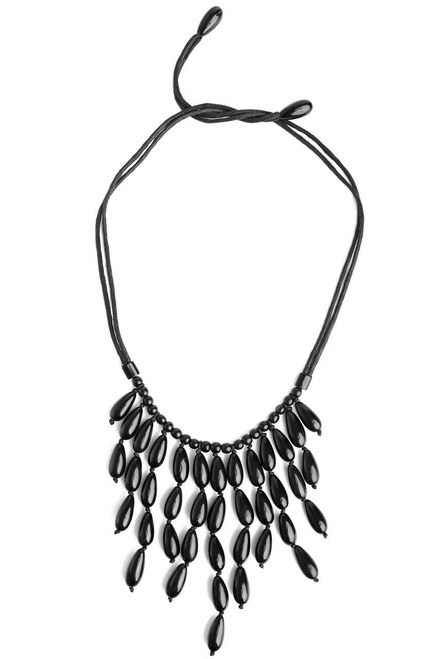 Oval Horn Necklace