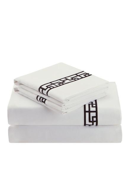 Buy Ming Fretwork White/Black Sheet from