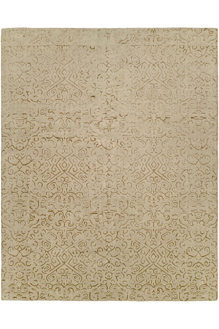 Buy Natori Shangri-La- Etched Geo Brown Tones Rug from