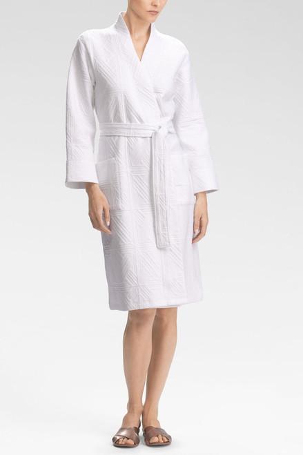 Natori Quilted Cotton Robe at The Natori Company