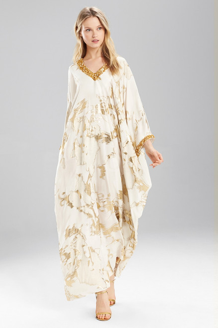 Buy Josie Natori Couture Embellished Luster Caftan from