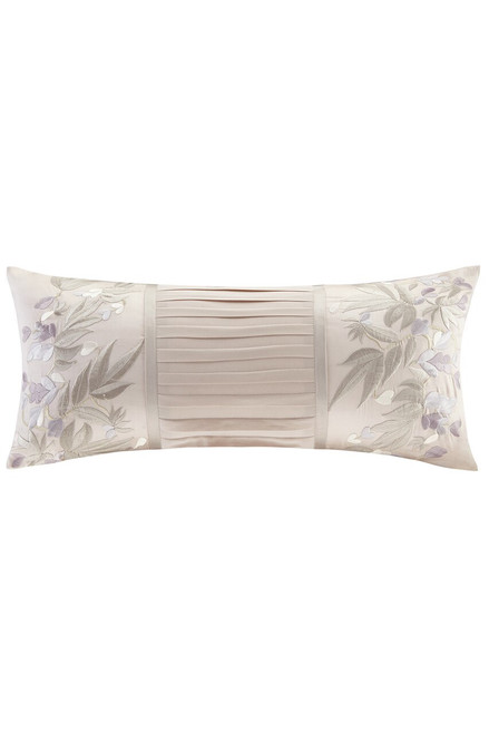 Buy Natori Wisteria Oblong Pillow With Embroidery from