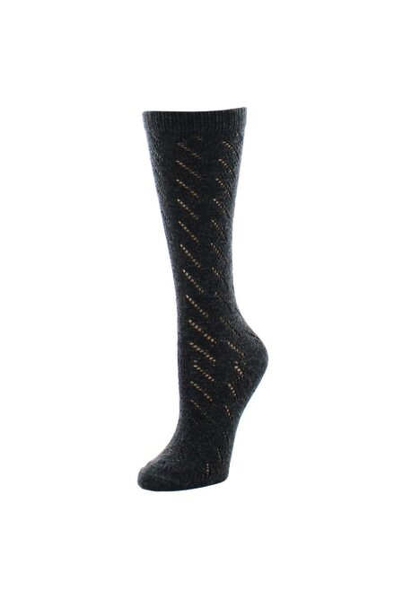 Natori Rumi Swirl Crew Socks at The Natori Company