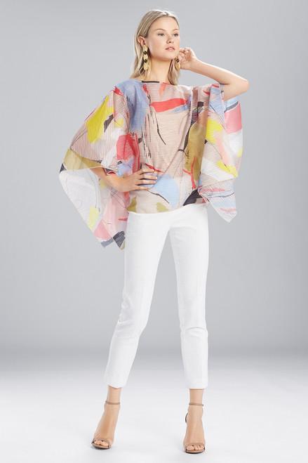 Buy Josie Natori Printed Gauze Caftan Top from