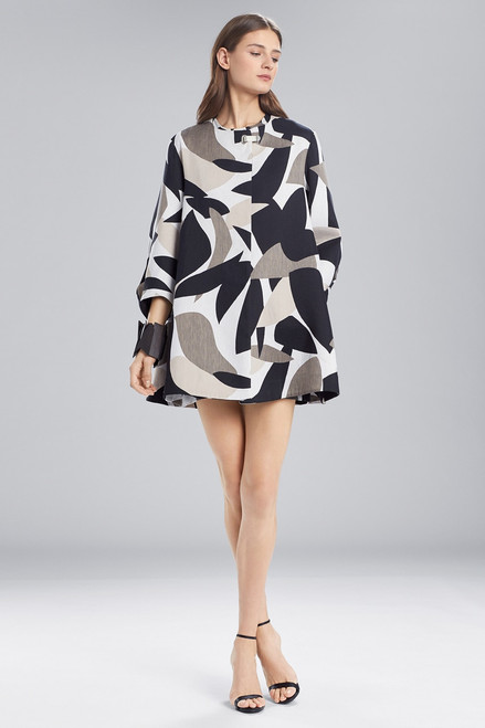 Buy Josie Natori Abstract Printed Jacquard Long Topper from