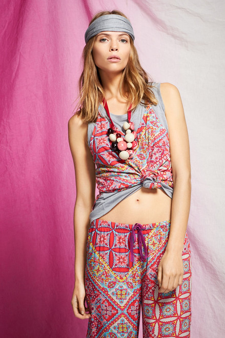 Josie Heather Tees Swing Tank at The Natori Company