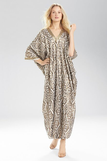 Buy Josie Natori Sultan Cocoon Caftan from