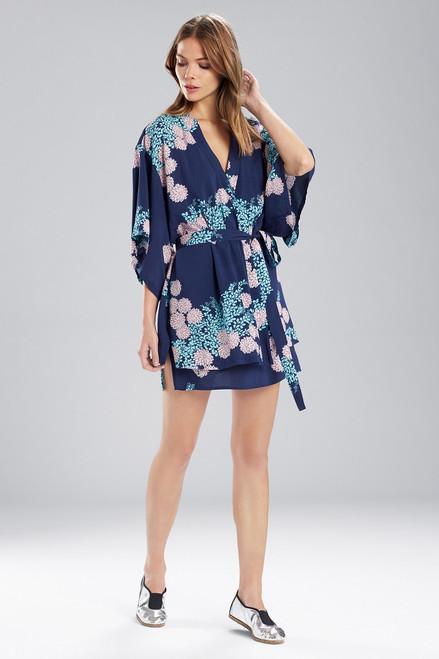 Blissful Blooms Happi Coat Midnight/Blue
