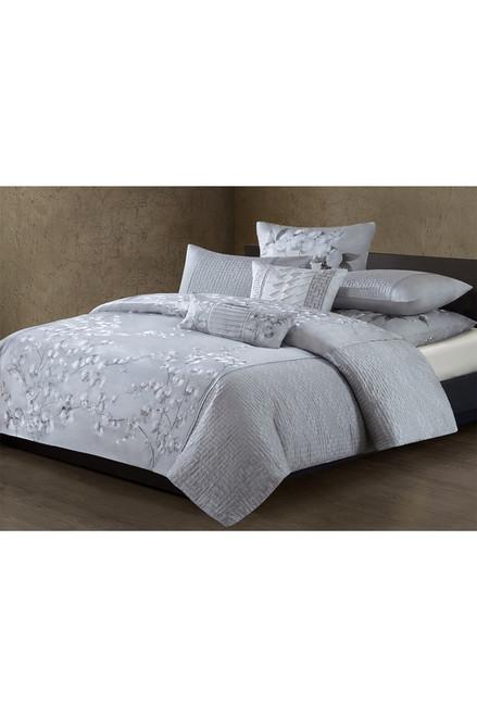 Natori White Orchid Square Pillow at The Natori Company