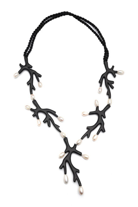 Acacia With Mother of Pearl Necklace