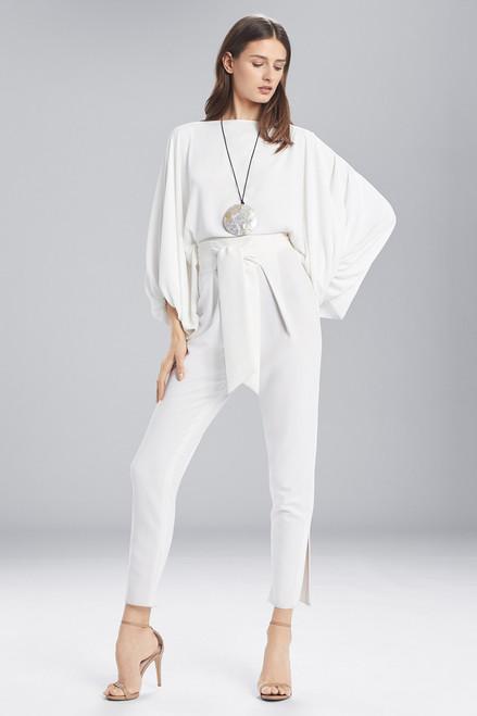 Buy Josie Natori Solid Silky Soft Poet Sleeve Top from