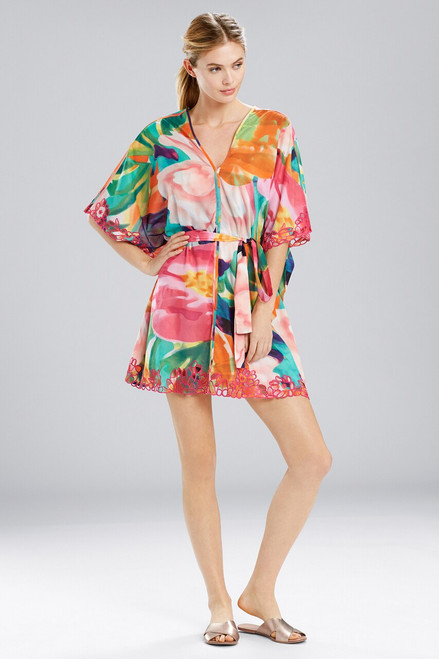 Buy Natori Garbo Caftan Tie With Embroidery from