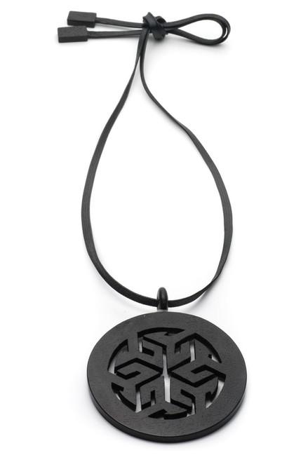 Buy Josie Natori Horn Round Necklace from
