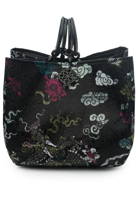 Buy Josie Natori Dragon Jacquard Small Bag from