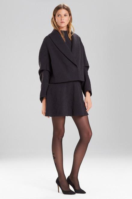 Buy Josie Natori Knit Jacquard Cropped Jacket from