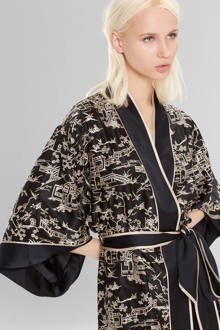 Josie Natori Pagoda Wrap at The Natori Company