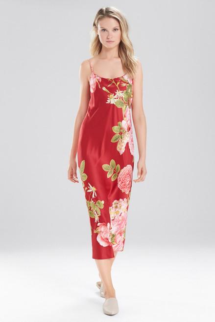 Mandarin Printed Gown