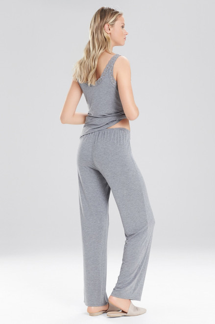 Natori Feathers Essentials Pants With Lace at The Natori Company