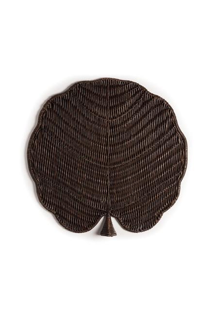 Buy Natori Maranao Circle Leaf Tray from