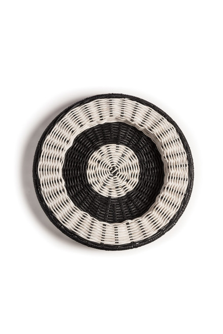 Natori Maranao Circular Stripe Tray at The Natori Company