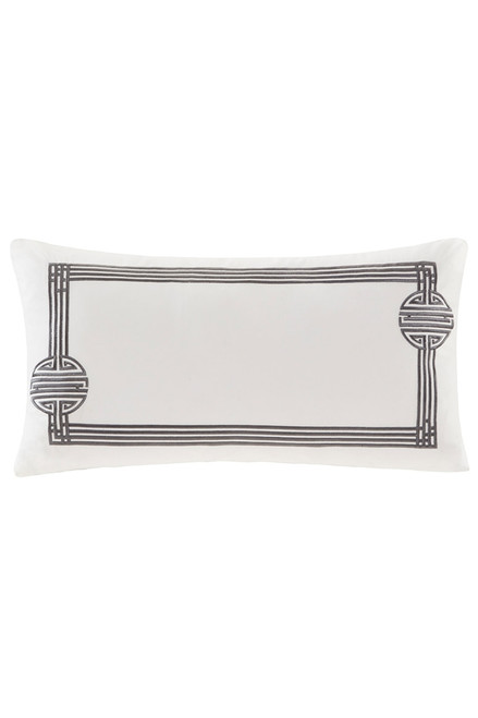 Buy Natori Sterling Dragon Oblong Pillow from