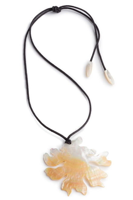 Buy Josie Natori Mother Of Pearl Coral Necklace from
