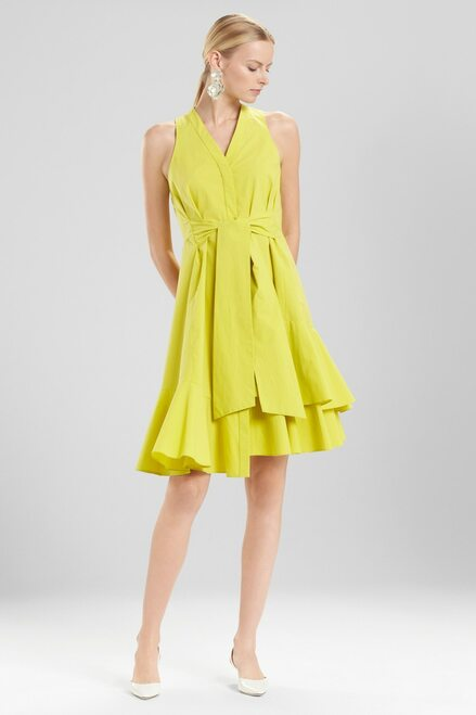 Buy Josie Natori Cotton Poplin Sleeveless Dress from