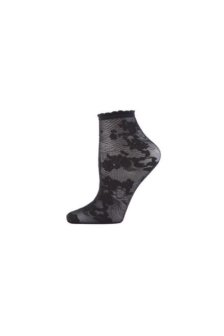 Buy Natori Scarlet Lace Sheer Shortie Socks from