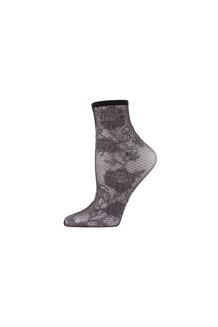 Buy Natori Chantilly Sheer Shortie Socks from