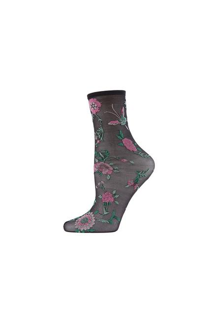 Buy Natori Mariposa Sheer Anklet Socks from