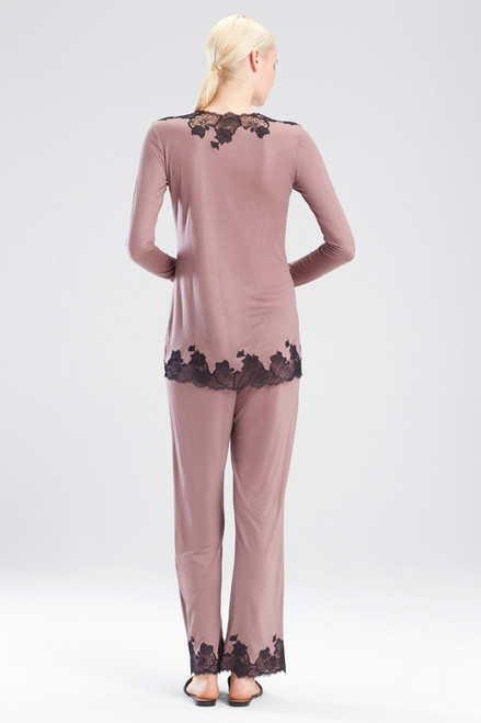 Josie Natori Charlize V-Neck PJ Set at The Natori Company
