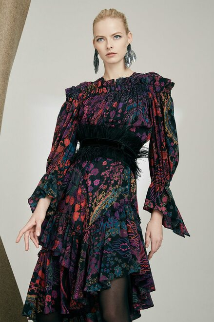 Josie Natori Bohemia Garden Dress at The Natori Company