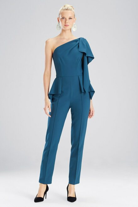 Buy Josie Natori Bistretch One Shoulder Jumpsuit from