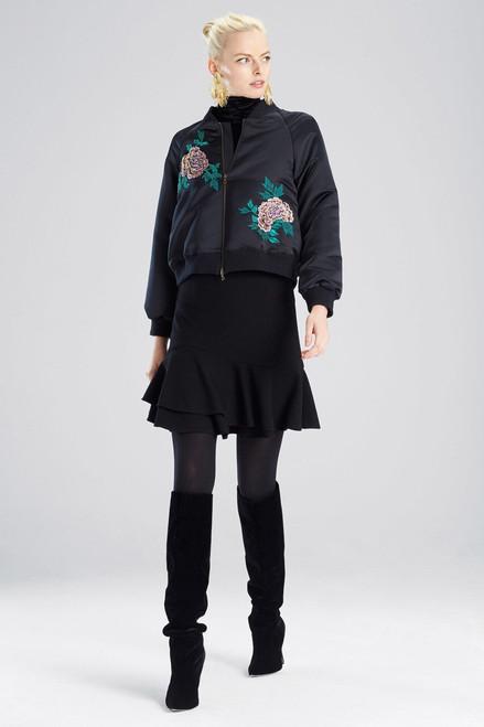 Buy Josie Natori Duches Satin Jacket from