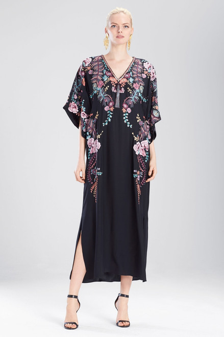 Buy Josie Natori Couture Scarf Print Caftan from