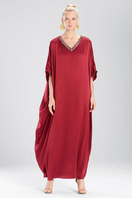 Buy Josie Natori Couture Trim Square Caftan from