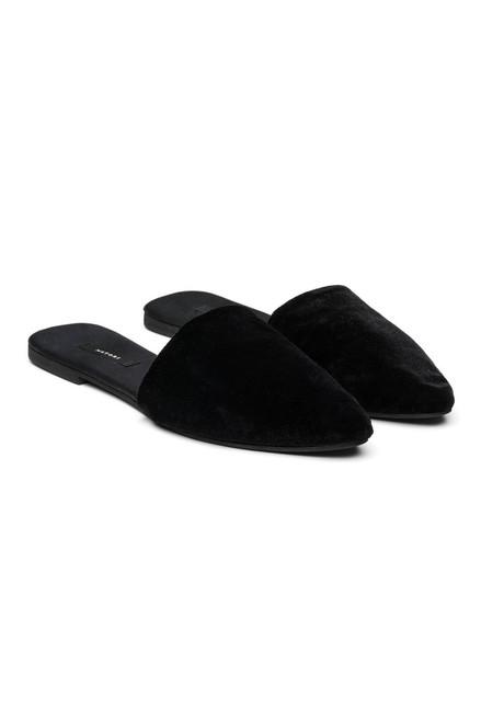Buy Natori Velvet Mules from