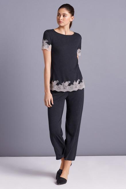 Luxe Shangri-La Short Sleeve PJ at The Natori Company