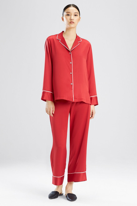 Feathers Satin Essentials PJ at The Natori Company