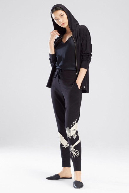 Buy Natori Cocoon Embroidered Joggers from
