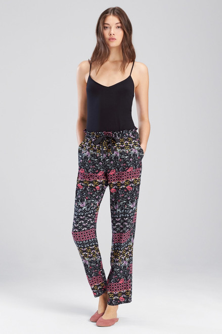 Buy Josie Nomad City Pants Black/ Cosmo Pink from